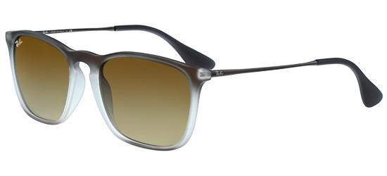 Ray-Ban CHRIS RB 4187 BROWN SHADED/DARK BROWN SHADED
