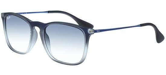 Ray-Ban CHRIS RB 4187 BLUE SHADED/LIGHT BLUE SHADED