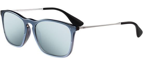 Ray-Ban CHRIS RB 4187 GREY MIRROR/SILVER
