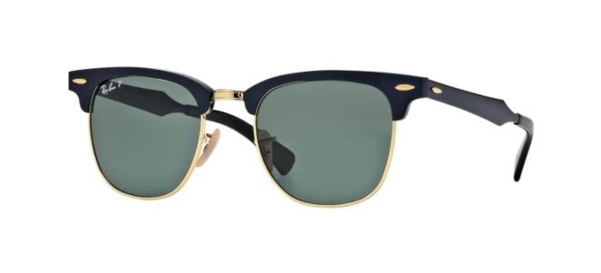 Ray-Ban solbriller CLUBMASTER ALUMINUM RB 3507