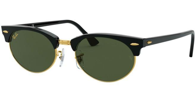 Ray-Ban solbriller CLUBMASTER OVAL RB 3946