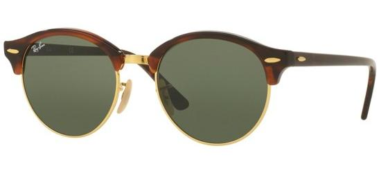 Ray-Ban Clubround RB4246 1157 51-19 in spotted black havana L1TTKaU