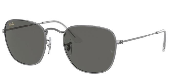 Ray-Ban solbriller FRANK RB 3857 GUNMETAL GOLD LOGO