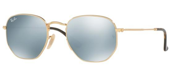 Ray-Ban HEXAGONAL METAL RB 3548N GOLD/SILVER MIRROR. Lista de deseos