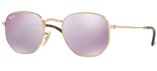 Ray-Ban HEXAGONAL METAL RB 3548N BLACK/LILAC