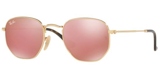 Ray-Ban HEXAGONAL METAL RB 3548N GOLD/COPPER