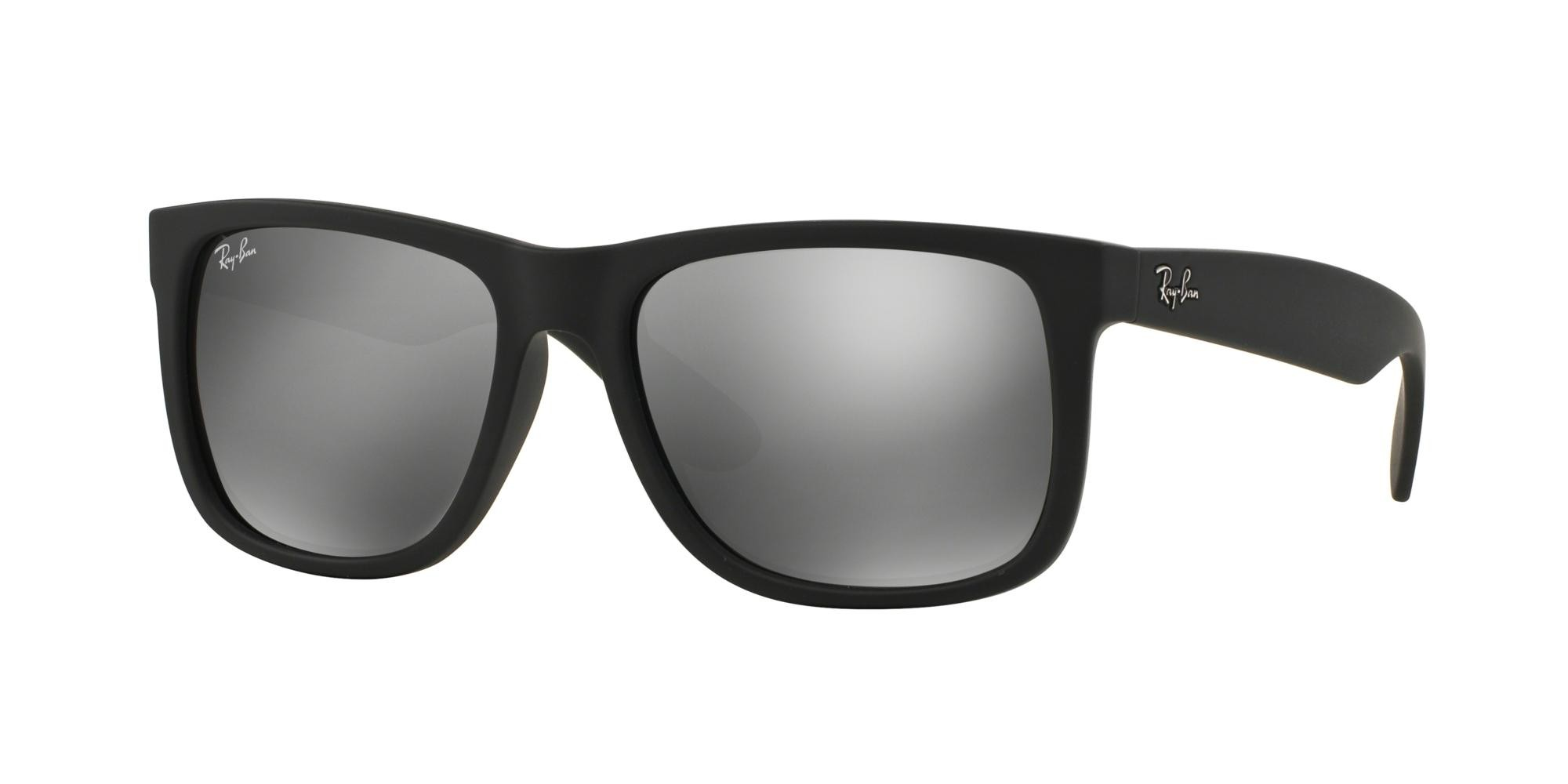 Ray-Ban JUSTIN RB 4165 BLACK RUBBER/GREY