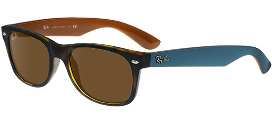 Ray-Ban NEW WAYFARER RB 2132 HAVANA PETROLEUM/B-15 CLASSIC BROWN