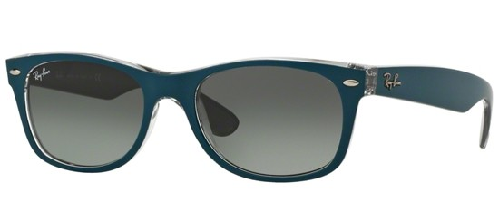 Ray-Ban NEW WAYFARER RB 2132 PETROLEUM/GREY SHADED