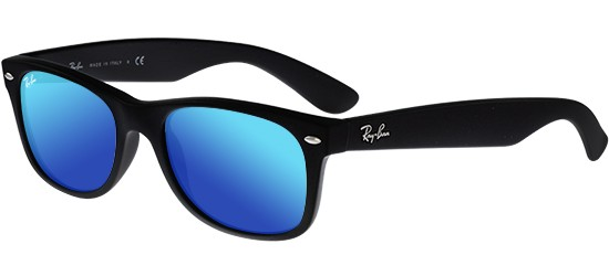 Ray-Ban NEW WAYFARER RB 2132 MATTE BLACK/BLUE