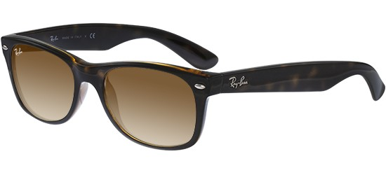 Ray-Ban NEW WAYFARER RB 2132 HAVANA/LIGHT BROWN SHADED