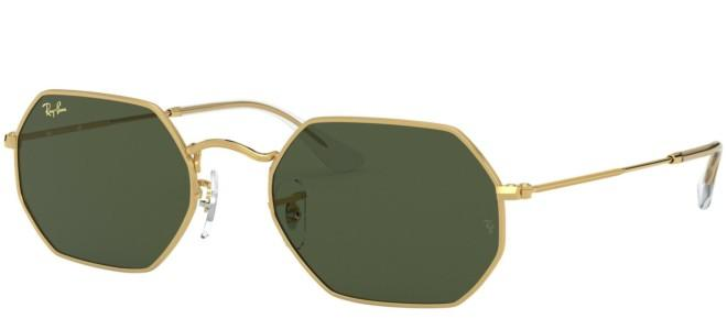Ray-Ban solbriller OCTAGONAL RB 3556 LEGEND GOLD
