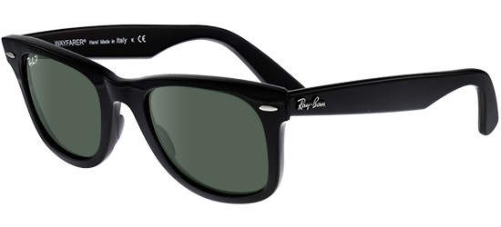 Ray-Ban ORIGINAL WAYFARER RB 2140 BLACK/CRYSTAL GREY GREEN POLARIZED