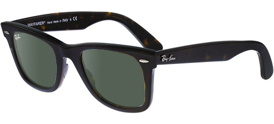 Ray-Ban ORIGINAL WAYFARER RB 2140 HAVANA/CRYSTAL GREY GREEN