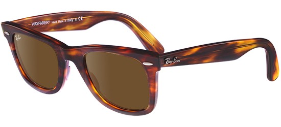 Ray-Ban ORIGINAL WAYFARER RB 2140 LIGHT TORTOISE/CRYSTAL BROWN