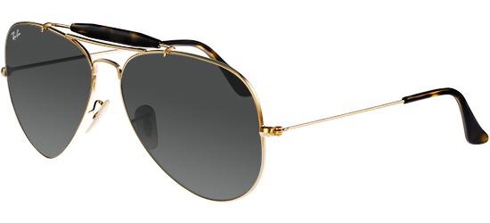 ray ban 3029 aviator gold