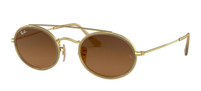 Ray-Ban solbriller OVAL DOUBLE BRIDGE RB 3847N