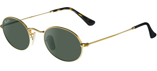 Ray-Ban Oval RB 3547N 001 51 Lunettes de soleil