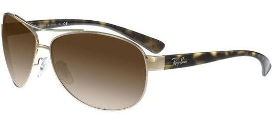Ray-Ban RB 3386 TORTOISE GOLD/BROWN SHADED
