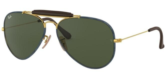 Ray-Ban solbriller RB 3422Q (LEATHER INSERTS)