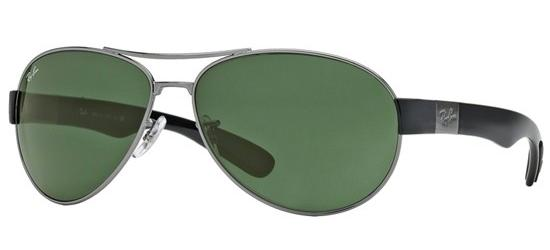 Ray-Ban RB 3509 RUTHENIUM BLACK/GREY GREEN