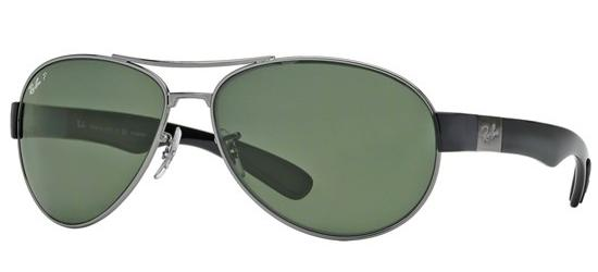 Ray-Ban RB 3509 HAVANA RUTHENIUM/GREY GREEN POLARIZED