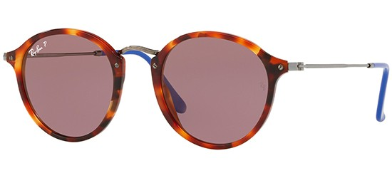 Ray-Ban ROUND FLECK RB 2447 RED HAVANA/VIOLET