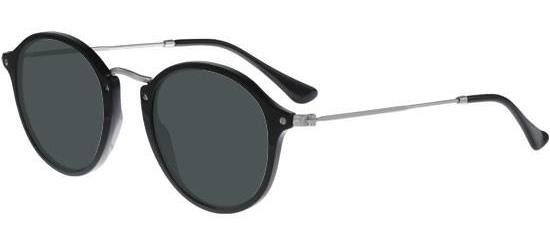 Ray-Ban ROUND FLECK RB 2447 BLACK/CRYSTAL GREY GREEN