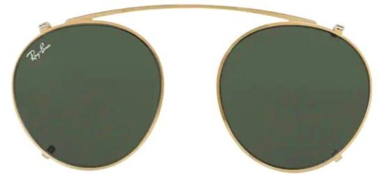 Ray-Ban ROUND FLECK RX 2447V GOLD/GREY