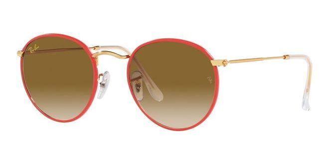 Ray-Ban solbriller ROUND FULL COLOR RB 3447JM