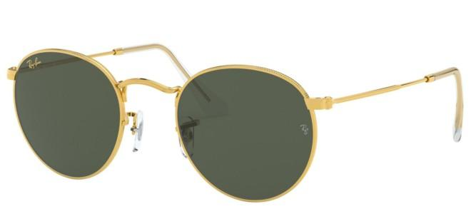 Ray-Ban solbriller ROUND METAL RB 3447 LEGEND GOLD