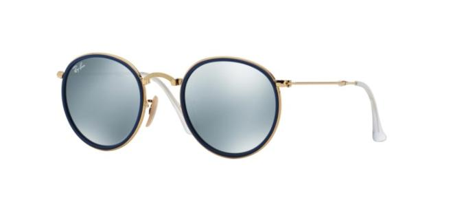 Ray-Ban solbriller ROUND RB 3517 FOLDING