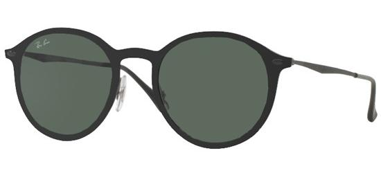 Ray-Ban ROUND RB 4224 MATTE BLACK/GREY GREEN