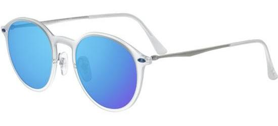 Ray-Ban ROUND RB 4224 MATTE CRYSTAL/BLUE MIRROR