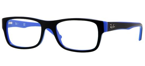 Ray-Ban RX 5268 BLACK BLUE
