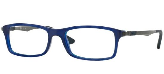 Ray-Ban RX 7017 TRANSPARENT DARK BLUE