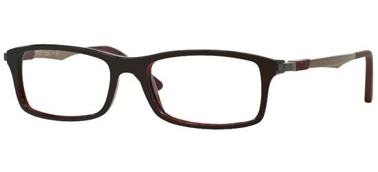 Ray-Ban RX 7017 DARK BURGUNDY