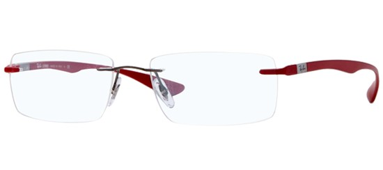 Ray-Ban RX 8724 RUTHENIUM RED
