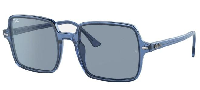 Ray-Ban sunglasses SQUARE II RB 1973 TRANSPARENT BLUE COLLECTION