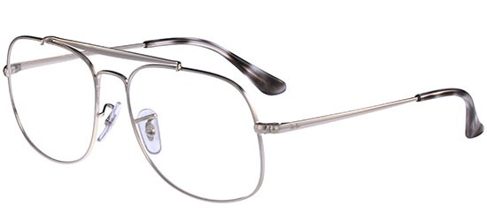 Ray-Ban THE GENERAL RX 6389 SILVER