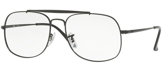 Ray-Ban THE GENERAL RX 6389 SHINY BLACK