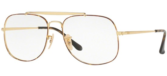 Ray-Ban THE GENERAL RX 6389 HAVANA GOLD