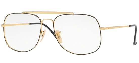 Ray-Ban THE GENERAL RX 6389 BLACK GOLD