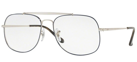 Ray-Ban THE GENERAL RX 6389 BLUE SILVER