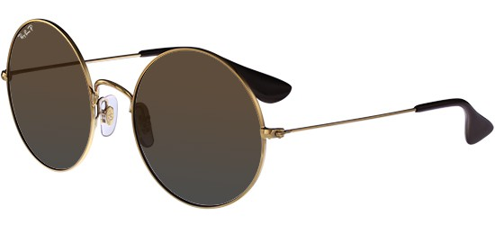 Ray-Ban THE JA-JO RB 3592 GOLD/GREY BROWN SHADED