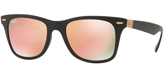Ray-Ban WAYFARER LITEFORCE RB 4195 MATTE BLACK/COPPER