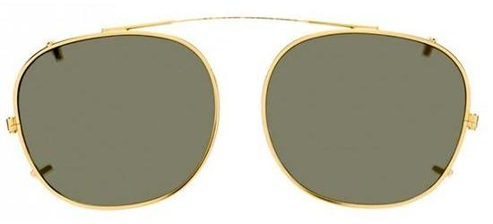 Moscot LEMTOSH GOLD/GREEN CLIP-ON