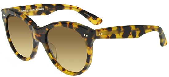 Oliver Goldsmith MANHATTAN 1960 LEOPARD/BROWN SHADED