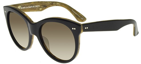 Oliver Goldsmith MANHATTAN 1960 BLACK WOOD/LIGHT BROWN SHADED