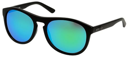 Police ASTRAL 2 S1871 MATTE BLACK/GREEN BLUE MIRROR